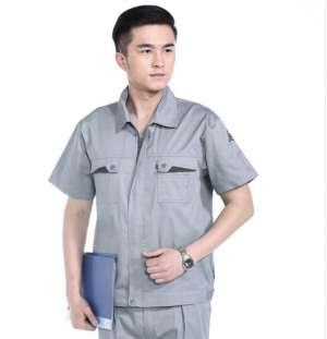 夏季工作服短袖