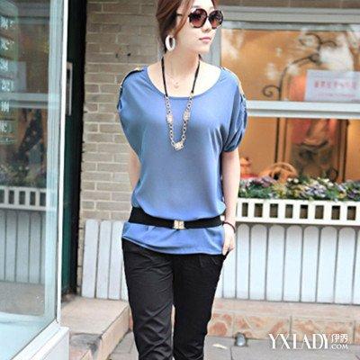 【图】蝙蝠袖t恤夏搭配方法教你在夏天如何穿的清凉又时尚