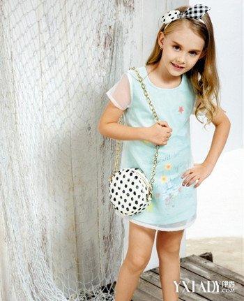 【图】儿童浅蓝色裙子怎么搭配呢时尚技巧妈妈们要知道