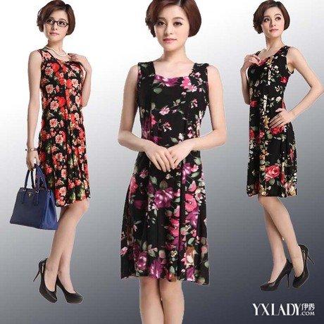 【图】女中年连衣裙怎么搭配好看哪些款式的好看