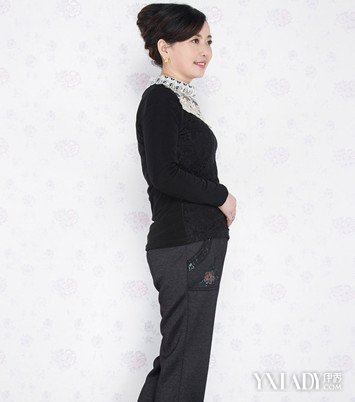 【图】中老年女秋装裤子时尚搭配帮助妈妈变年轻好气质