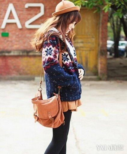 【图】娇小女孩冬天穿衣搭配介绍4款潮搭时尚又显高