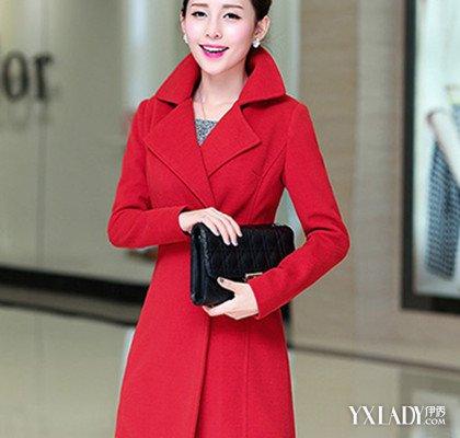 【图】揭秘大红色毛呢中长款外套怎么搭配让你美到任性