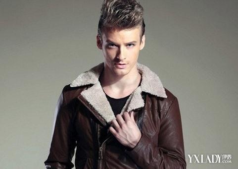 【图】男士枣红色皮衣怎么搭配时尚皮衣穿出你的型男气质