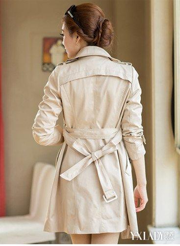 【图】女装风衣外套中长款搭配图教你几招时尚搭衣技巧
