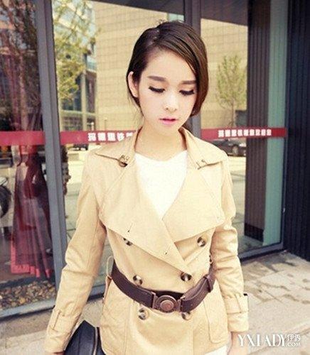 【图】胖mm风衣搭配5种搭配打造时尚潮流风范