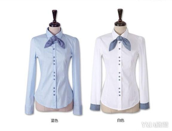 【图】一字领衬衫展现图教你怎么穿衣搭配