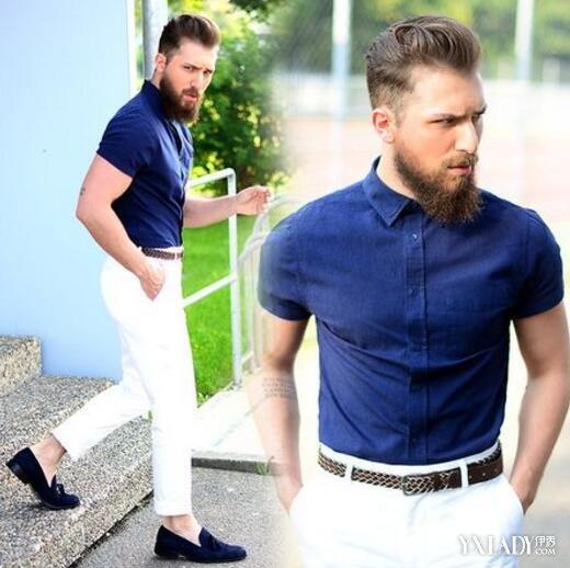 【图】微胖男生夏天穿衣搭配教你7招让你显瘦显帅