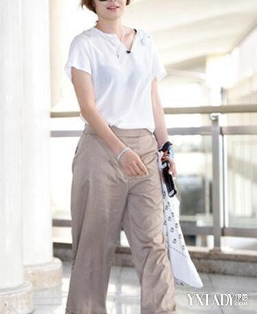 【图】韩国明星女阔腿九分裤搭配教你阔腿裤的9大搭配技巧