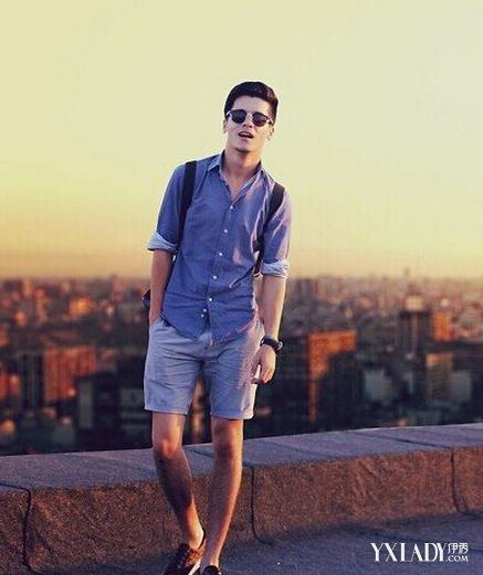 【图】瘦的男生穿衣搭配图片4大技巧教你搭出男神范