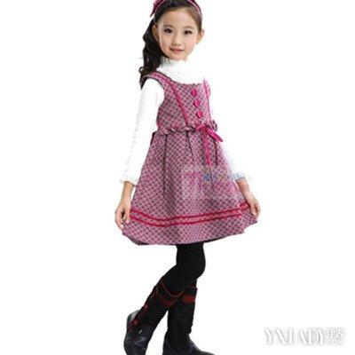 【图】儿童女孩冬天公主裙配美女公主闪耀整个夏天