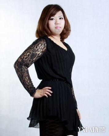 【图】流行的150斤的胖人穿衣打扮胖人如何穿衣打扮出精致甜美