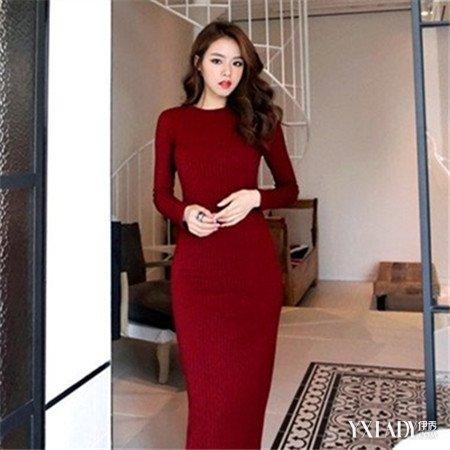 【图】分享针织中长裙搭配技巧教你轻松变身时尚达人