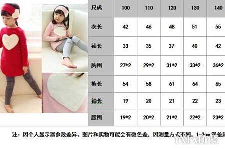 【图】身高体重穿衣尺码教你如何选择合适的衣服尺码