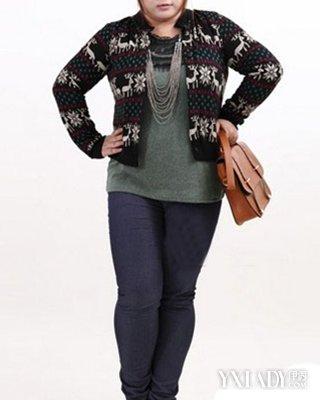 【图】胖人穿衣显瘦搭配图欣赏8种穿法最显瘦