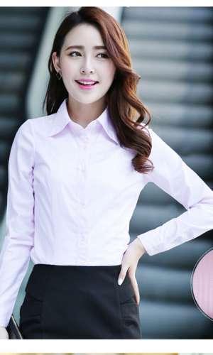 粉红色衬衫