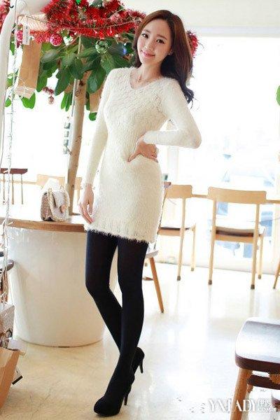 【图】连衣裙女秋冬款秀出甜美与优雅