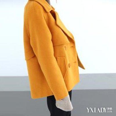 【图】短款羊毛呢外套搭配衣服搭配大全
