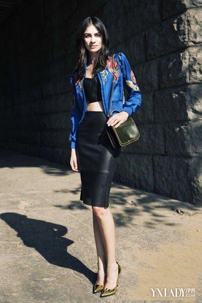 【图】矮个子女生穿衣搭配法高腰上衣夏天短款最新搭配