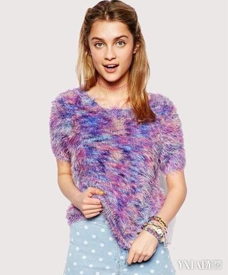 【图】紫色针织衫配什么裤子潮女必看