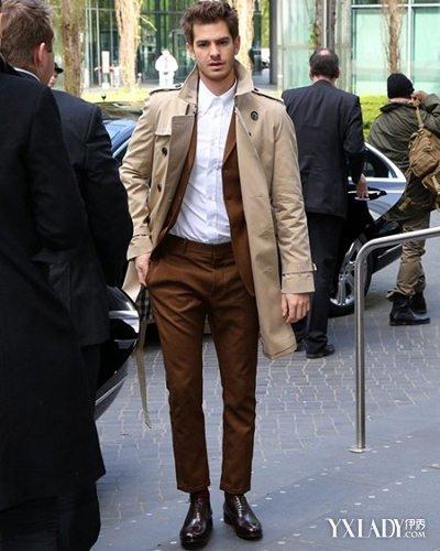 【图】男白色长款风衣怎么搭配4款最帅教你搭出型男范