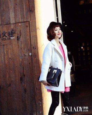 【图】白色外套怎么搭配白色外套里面配什么衣服好看
