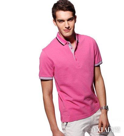 【图】短袖翻领t恤修身款如何搭配金典款式教你穿出休闲范