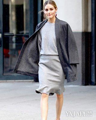 【图】灰色外套搭配什么颜色内搭好看街拍女王教你时髦玩法