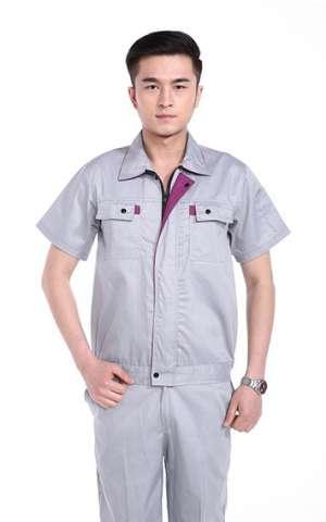 灰色防静电短袖