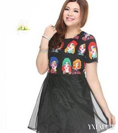 【图】加大码女装胖人服装图片助你做自信的胖女人