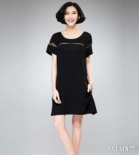 【图】女肥大秋装连衣裙款式图片欣赏彰显女性优雅魅力