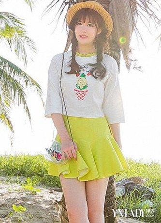 【图】夏季矮胖女搭配技巧4种穿衣心得解决矮胖问题