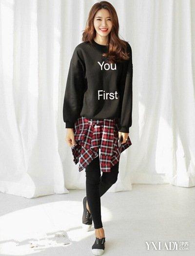 【图】四款女生冬装裤腿裤搭配让你简单穿出韩潮范儿