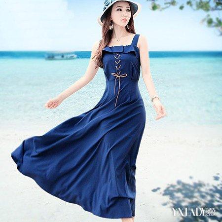 【图】各种抹胸吊带连衣裙集锦巧搭秋装连衣裙打造好心情